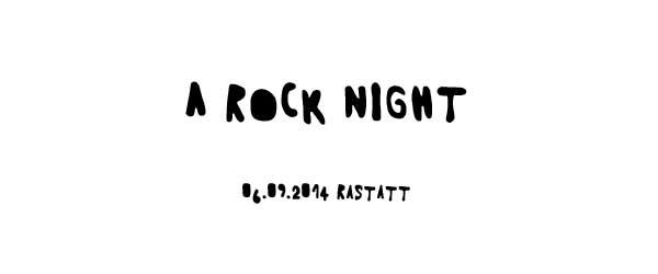 A Rock Night Open Air 2014 in Rastatt