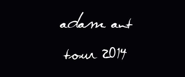 Adam Ant im Februar 2014 auf Tour in Deutschland