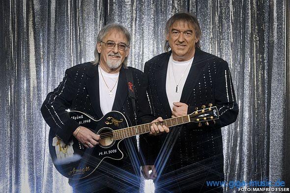 Die Amigos gehen auf große Tour 2012 und 2013. Tickets unter giga-music.de.