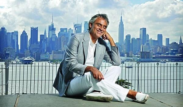 Andrea Bocelli gibt 2013 Konzerte in Berlin und Bayreuth! Karten unter giga-music.de!