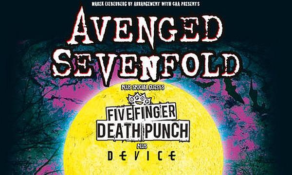 Avenged Sevenfold 2013 auf Tour in Deutschland (Bild: mlk.com)