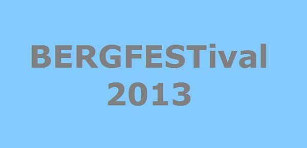 Das BERGFESTival 2013 vom 06. bis 08. Dezember in Saalbach Hinterklemm!