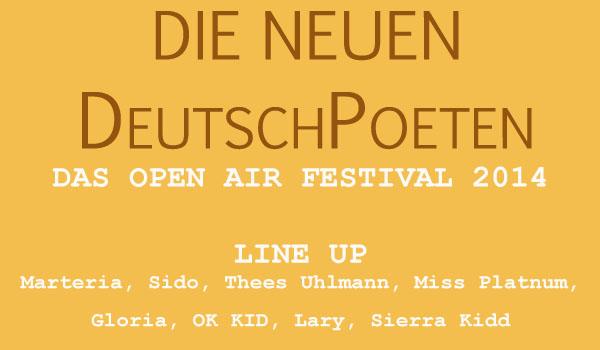 Die neuen DeutschPoeten 2014 Tickets