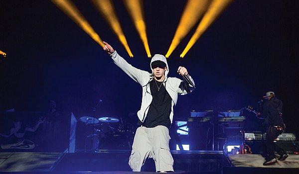 Eminem 2014 auf Rapture Tour - Kommt er auch nach Europa/ Deutschland? (Foto: Universal Music)