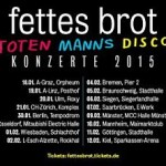 Fettes Brot Tour 2015 – Tickets VVK startet!
