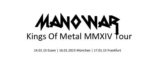 Manowar 2015 wieder live in Deutschland