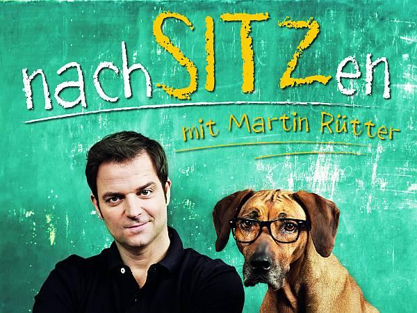 """Martin Rütter startet ab Ende 2014 mit seinem neuen Programm NachSITZen eine neue Tour ! (Foto: nachSITZen"""" © Marc Rehbeck/ agentur-hoanzl.at)"""
