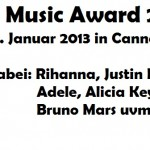 NRJ Music Award 2013 in Cannes