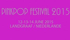 Pinkpop Tickets ab dem 28.09.2015 im Vorverkauf!