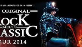 Rock meets Classic Tour 2014 mit Alice Cooper