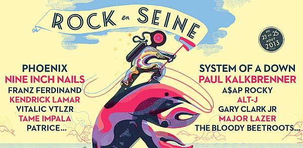 Rock En Seine Festival 2013 in Paris