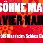 Söhne Mannheims Konzert 2015 mit Xavier Naidoo
