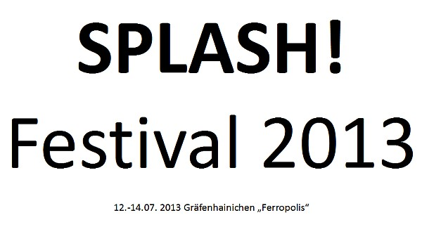 Splash! Festival - das HipHop Festival 2013