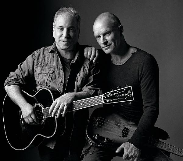 Sting Paul Simon Tour 2015 in Deutschland