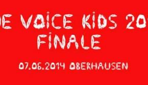 The VOICE KIDS Finale 2014 in der König Pilsener Arena in Oberhausen