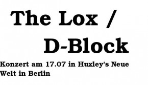 The Lox / D-block Show 2015