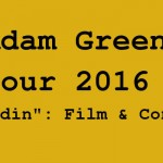 "Adam Green ""Aladdin""-Tour 2016 Film+Konzert"