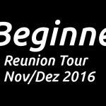 Tickets: Beginner Tour 2016 – Comeback!