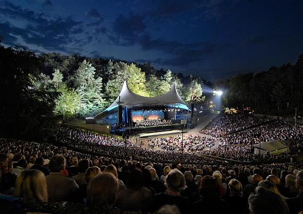Berliner Philharmoniker Waldbühnen Konzert 2013 mit Sir Simon Rattle