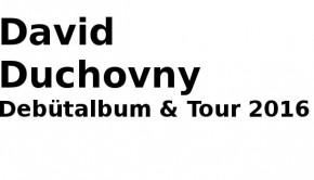 David Duchovny Konzerte 2016