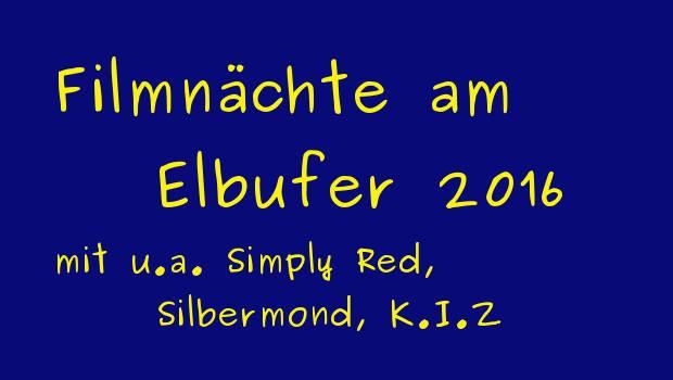 Filmnächte am Elbufer Dresden 2016