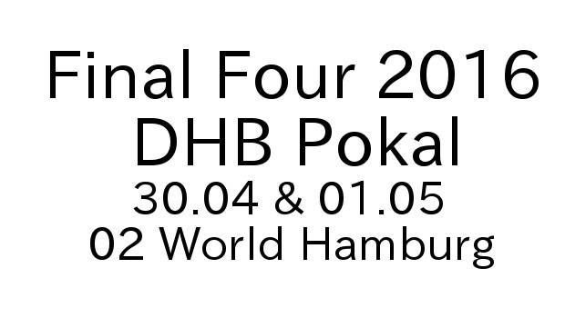 Handball Final Four 2016