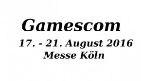 Gamescom Messe 2016