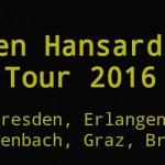 Glen Hansard Tour 2015