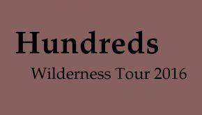 Hundreds Konzerte 2016
