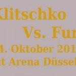 Klitschko vs Fury Tickets & Boxkampf Termin 2015
