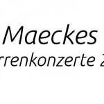 Maeckes Tour 2015 Gitarrenkonzerte