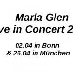 Marla Glen Konzerte 2015 in München und Bonn!
