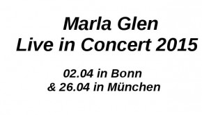 Marla Glen Konzerte 2015