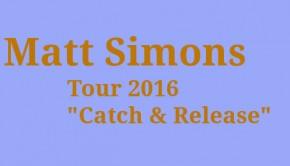 Matt Simons Konzerte 2016