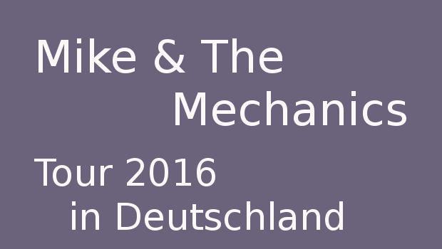 mike & the Mechanics konzerte 2016