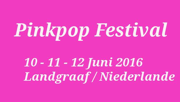 Pinkpop 2016 Festival