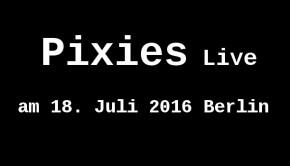 Pixies Tour 2016