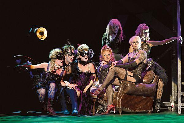 Wieder auf Tour: Die Rocky Horror Show! (Foto: BB Promotion © Thommy Mardo)