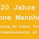 20 Jahre Söhne Mannheims Tour 2015 – mit Xavier Naidoo