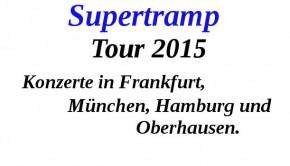 Supertramp Konzerte 2015
