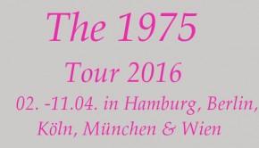 The 1975 Konzerte europa 2016