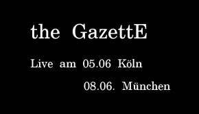 the gazette konzerte 2016