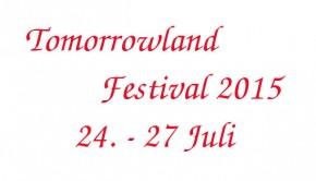 Tomorrowland Belgien 2015