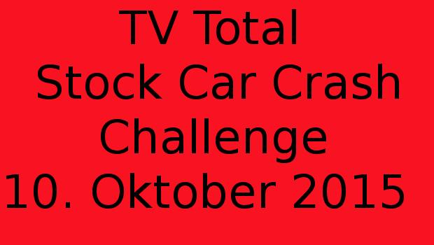 Stock car crash challenge 2015