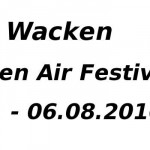 Wacken 2016 – Festival Tickets, Termine und Line up