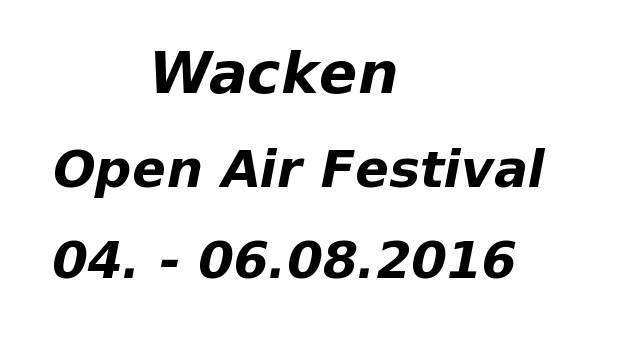 wacken festival 2016