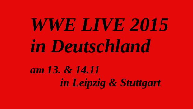 wwe live show 2015