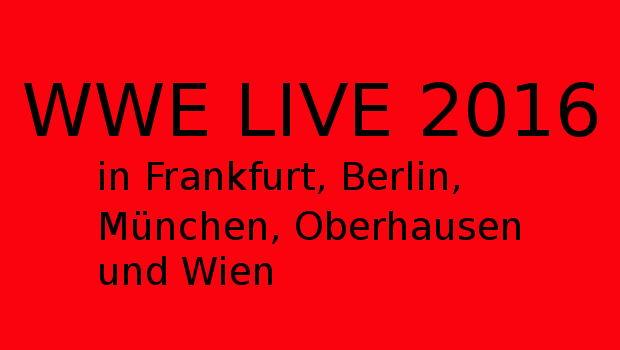 wwe live 2016 deutschland